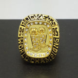 1995 Houston Rockets Basketball Championship Replica Ring Fan Gift
