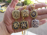 New York World Series 6 Championship Pendant Necklace 3 Pc Set