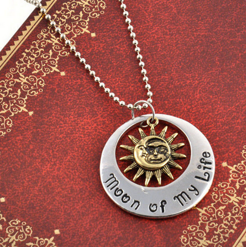 Game Of Thrones Khal & Khaleesi My Sun and Stars Moon of My Life Necklace (FREE)