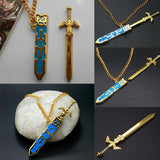 LEGEND OF ZELDA REMOVABLE MASTER SWORD NECKLACE