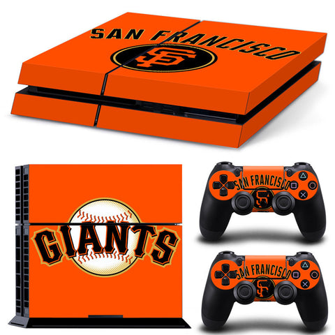San Francisco Giants Baseball PS4/XBOX One Console + Console Skin