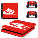 NEW Arrival NIKE PS4 Skin Stickers For Console and 2 Controllers