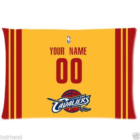 Cleveland Cavaliers Custom Pillow Case With Your Name and Numbers