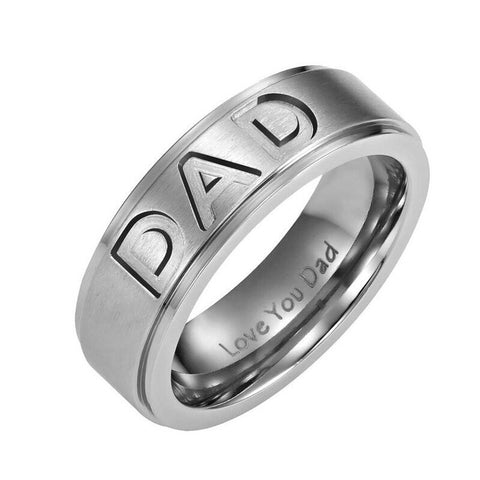DAD Stainless Steel Ring