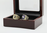 Miami Dolphins 1972 & 1973 Super Bowl Football Championship Replica Ring Set with Decorative Box