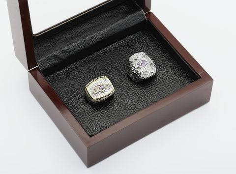Baltimore Ravens Super Bowl 2000 And 2012 Championship Rings