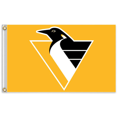 Pittsburgh Penguins Logo Flag
