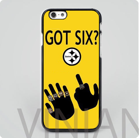Pittsburgh Steelers GOT SIX Phone Case (iPhone and Samsung)