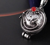Vampire Diaries Elena's Vervain Antique Silver Locket