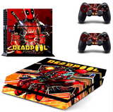 DEADPOOL PS4 SKIN STICKER