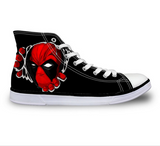 DEADPOOL PRINTED CANVAS SHOES
