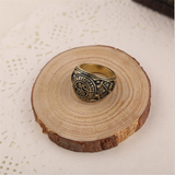 House of Card's Ring Antique Bronze and Silver