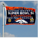 DENVER BRONCOS SUPER BOWL 50 3' x 5' FLAG