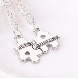 HOT New BFF Best Friends or Sisters Necklace Gift Set FREE