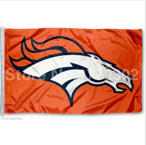 Denver Broncos Solid Flag 3 x 5