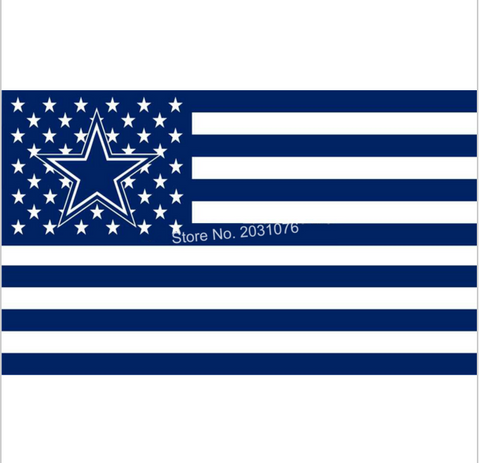 DALLAS COWBOYS STARS AND STRIPS 3 X 5 FLAG