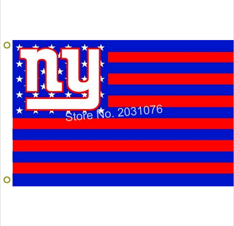 NEW YORK GIANTS STARS AND STRIPS 3 X 5 FLAG