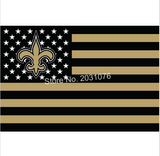 NEW ORLEANS SAINTS STARS AND STRIPES 3 X 5 FLAG