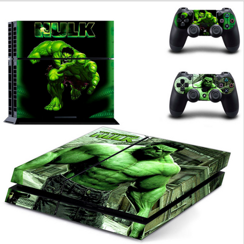 INCREDIBLE  HULK PS4 SKIN
