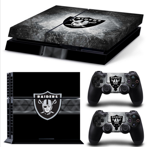 OAKLAND RAIDERS PS4 & XBOX ONE SKIN