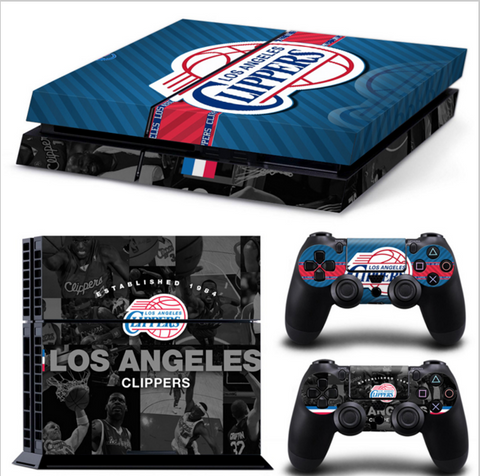 Los Angeles Clippers PS4 Skin
