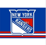 NEW YORK RANGERS LOGO TEAM FLAG