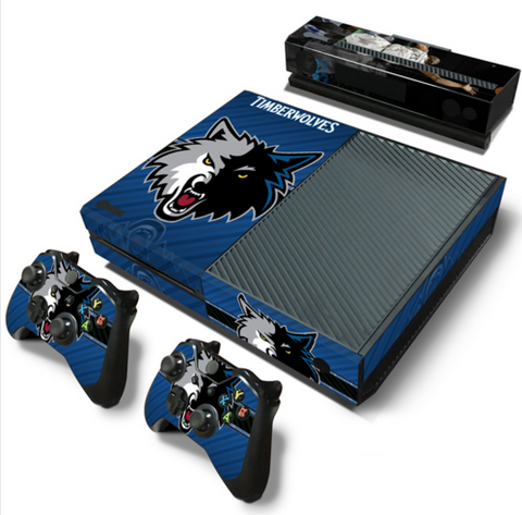 Timberwolves PS4/XBOX1 Skins
