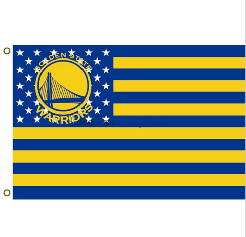 Golden State Warriors Team Flag 3X5 FT