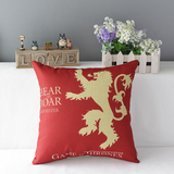 Game of Thrones Square Cotton Decorative Pillow Case