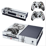 The Witcher Wild Hunt Skin Sticker for Xbox One & Kinect & 2 controller skins