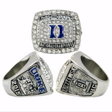 Duke Basketball 2015 NCAA Championship Replica Ring