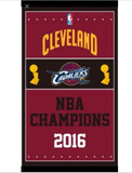 Cleveland Cavaliers 2016 Champions Flag Banner
