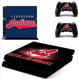 Cleveland Indians Game Console Sticker Skin