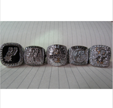 San Antonio Spurs NBA Championship 5 Ring Set