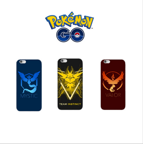 Pokemon Go iPhone Edition Hardcover Protection Case