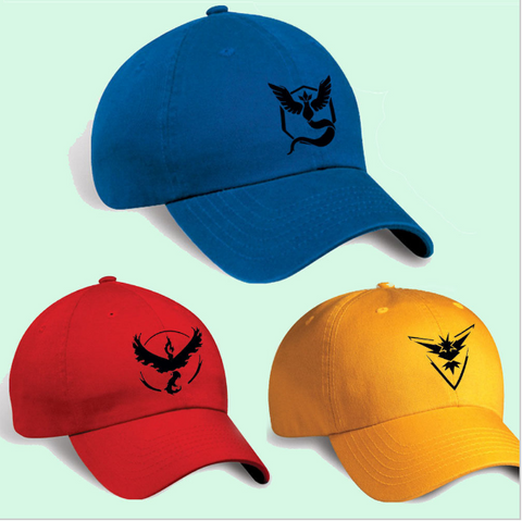 Pokemon Go Baseball Style Team Hat