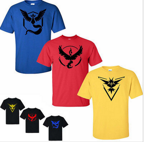 Pokemon Go Men's Style Shirt