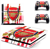 Arsenal Football (Soccer) Team PS4/XBOX One Console Skin