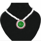 Alpha Kappa Alpha Sorority Pearl Necklace