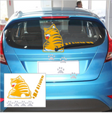 CAT MOVING TAIL STICKERS FOR CAR WINDOW WIPER