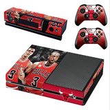 Chicago Bulls PS4 Skin For Console + 2 Controller