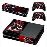 NFL Atlanta Falcons PS4/XBOX One SkinConsole and 2 Controller Protective Skin
