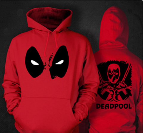 Deadpool Style Hoodies