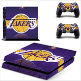 LAKERS PS4 SKIN FOR CONSOLE + CONTROLLERS