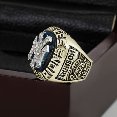 1977 New York Yankees World Series Championship Replica Ring Fan Gift
