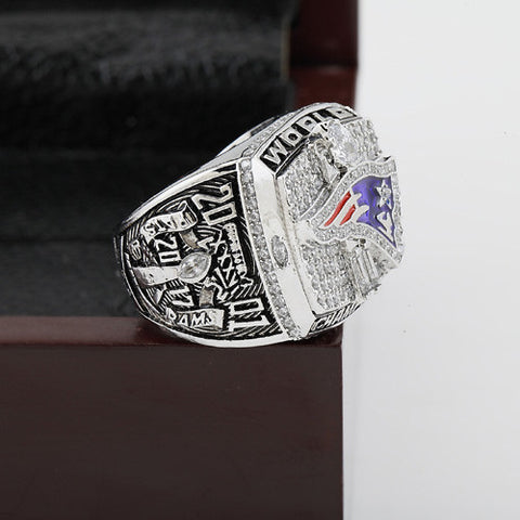 New England Patriots 2001 Super Bowl Football Championship Ring BRADY Fans Gift