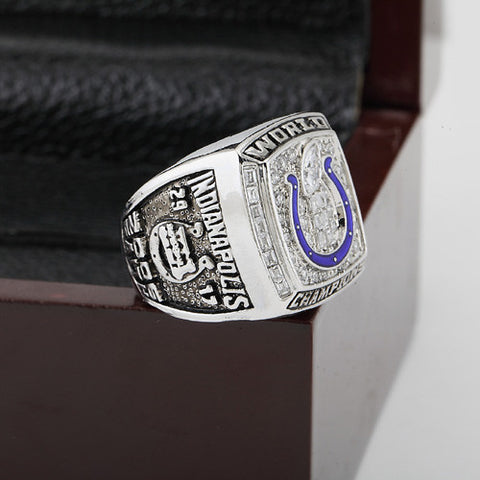INDIANAPOLIS COLTS 2006 Super Bowl Football Championship Replica Ring Size