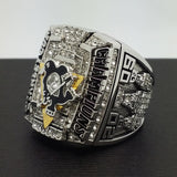 2009 Pittsburgh Penguins Stanley Cup Championship Copper Ring 'Crosby' Collection Fans Gift