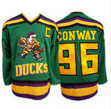 Mighty Ducks Movie Hockey Jerseys