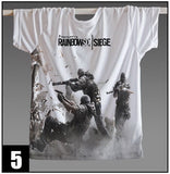Rainbow Six: Siege Printed Designed Style T-Shirts